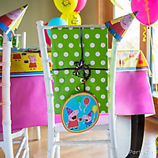 Peppa Pig Chair Decorating DIY