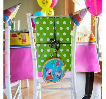 Peppa Pig Chair Decorating DIY