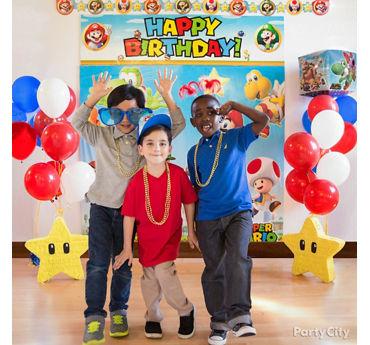 Super Mario Photo Booth Idea
