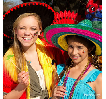 Fiesta Kids Dress Up Idea
