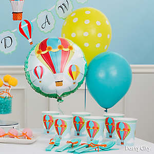 Air Balloon Decorating Idea