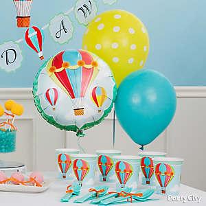 Air Balloon Decorating Idea