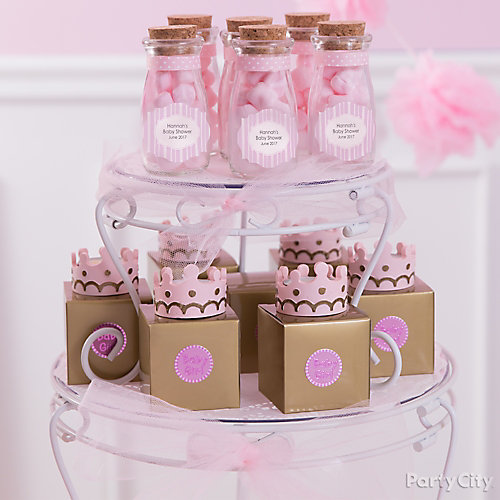 Display Baby Shower: Princess Baby Shower Candy Display Idea