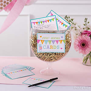 Princess Baby Shower Advice Card Idea