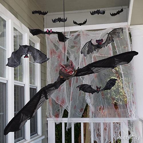 Bats in the belfry idea haunted house entrance ideas for Haunted house scene ideas