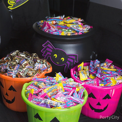 Trunk or Treat Candy Idea
