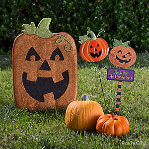Happy Pumpkin Signs Idea