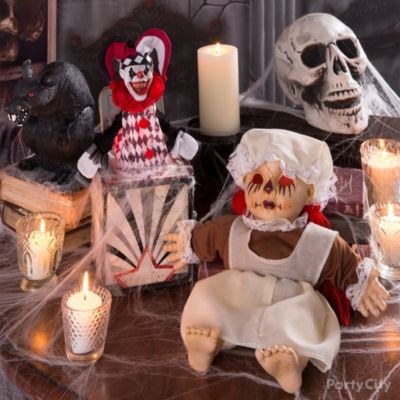 Terrifying Toys Decorating Idea