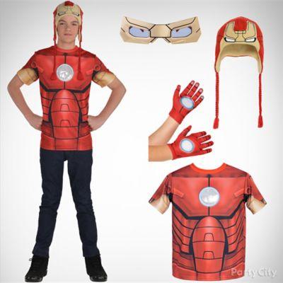 Boys Ironman Costume Idea