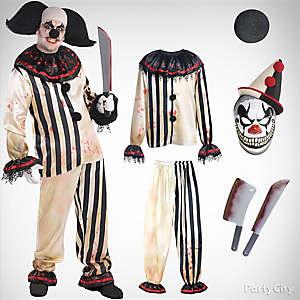 Mens Scary Clown Costume Idea
