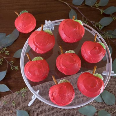 Apple Cupcakes Treat Idea How To