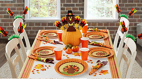 Thanksgiving Kids' Table Ideas