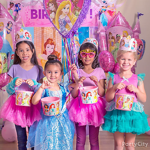 Disney princess party ideas party city for All decoration games for girls
