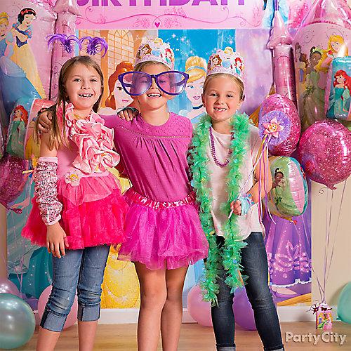 Disney Princess Photo Booth Activity Idea