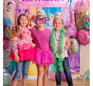Disney Princess Photo Booth Activity Idea