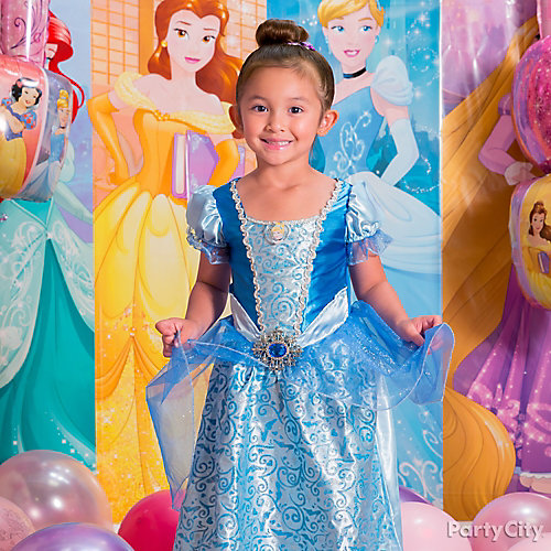Disney Princess Birthday Costume Idea