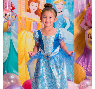 Disney Princess Birthday Costume Idea