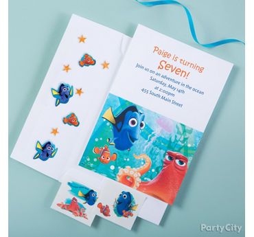 Dory Invite with Surprise