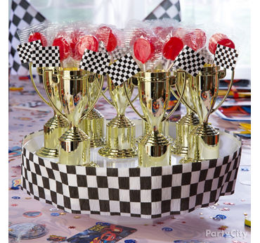 Blaze Trophy Candy Favors DIY