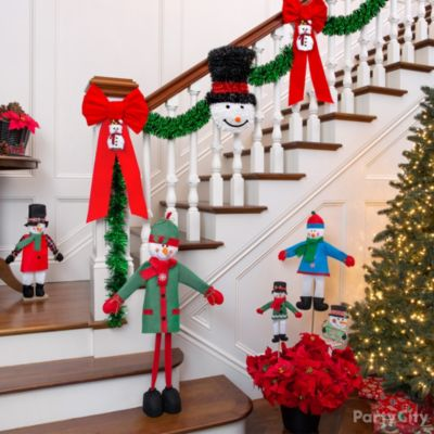 Snowman Theme Holiday Decorating Ideas