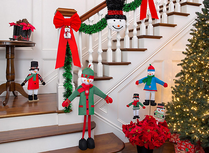 snowman theme holiday decorating ideas - Christmas Decoration Ideas