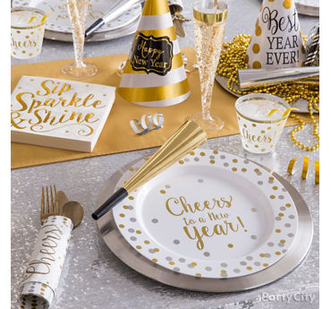 Sweet and Sparkly Place Setting Idea