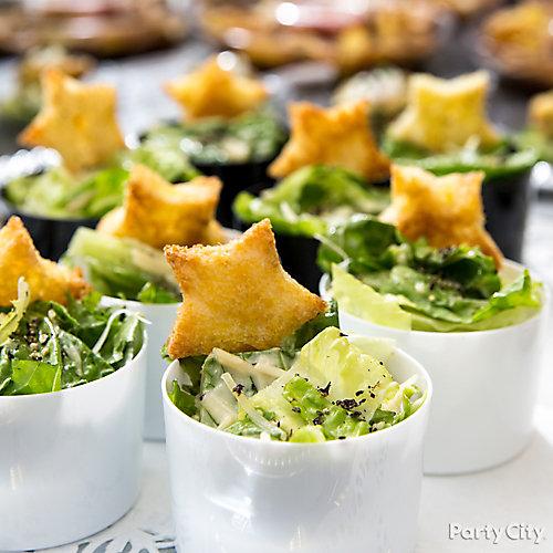 Mini Star Salads Idea