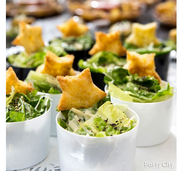 Mini Star Salads Idea