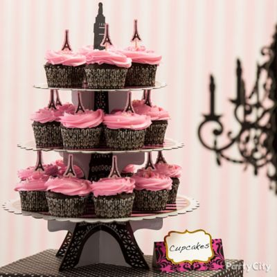 Cupcake Eiffel Tower