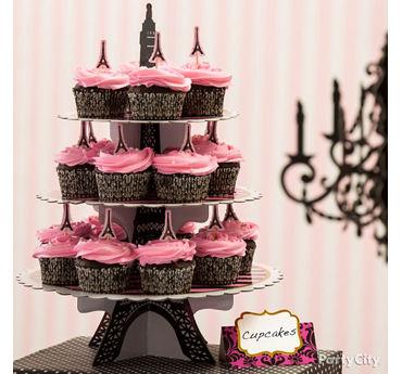 Cupcake Eiffel Tower