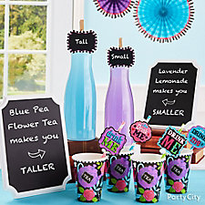 Taller and Smaller Drink Idea