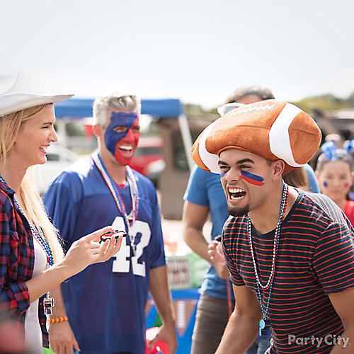 Tailgating Wearables and Face Paint Idea