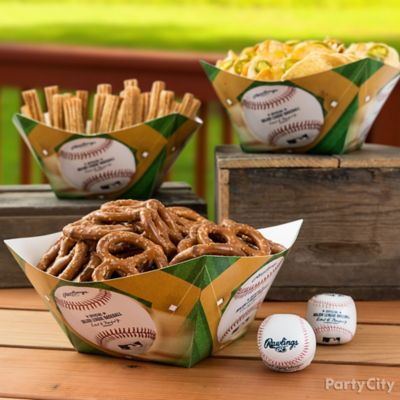 Baseball Stadium Snacks Idea