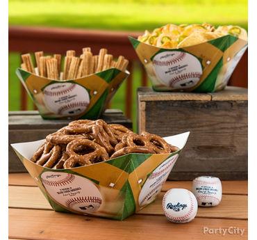 Baseball Stadium Snacks Idea