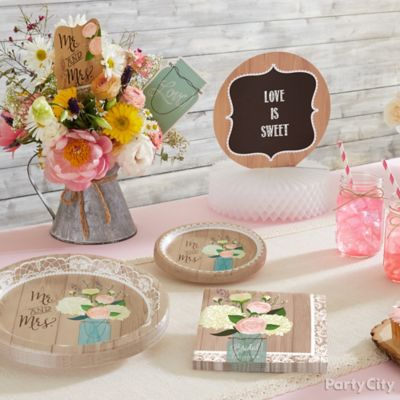 Rustic Bridal Shower Ideas