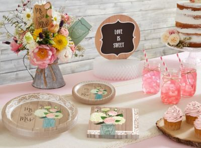 Rustic Bridal Shower Party Ideas