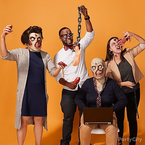The Working Dead Group Costume Idea