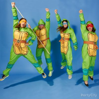 TMNT Easy Group Costume Idea