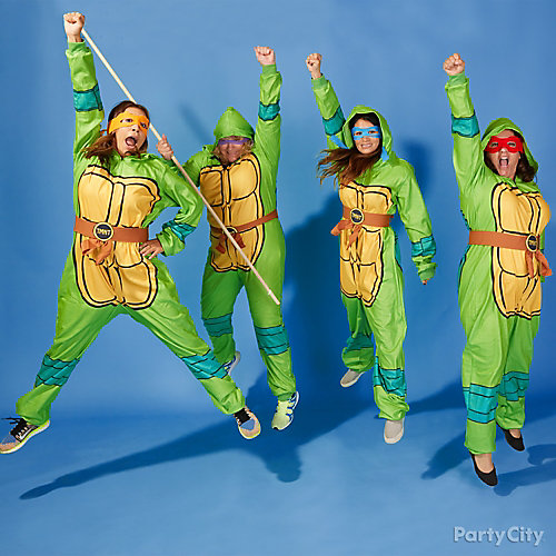 TMNT Easy Group Costume Idea