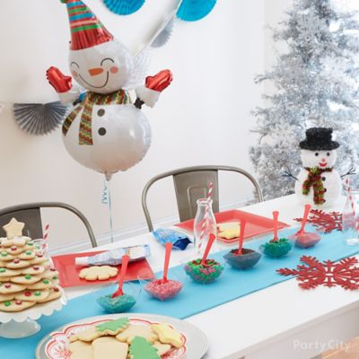 Holiday Cookie Party Decorating Station