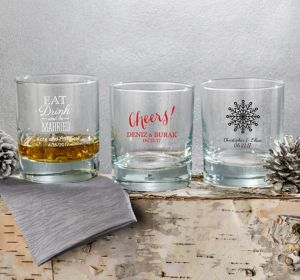 Personalized Rocks Glasses <br>(Printed Glass)