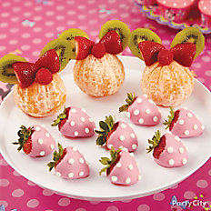 Minnie Mouse Candy-Covered Strawberries