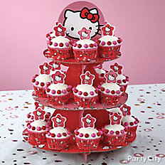 Hello Kitty Cupcake Tower