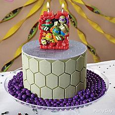TMNT Shell Cake