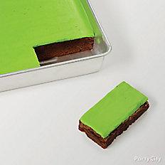 Make & ice brownies