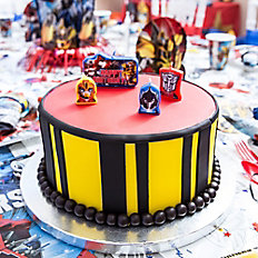 Transformers Fondant Cake