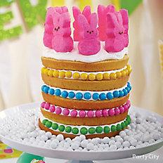 Peeps Bunny Easter Cake