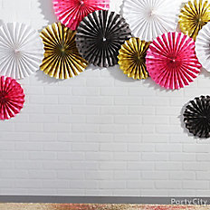 Hang large fans