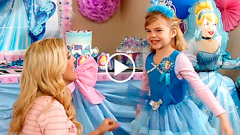 Cinderella Party Ideas Video