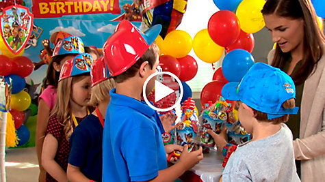 PAW Patrol Party Ideas Video